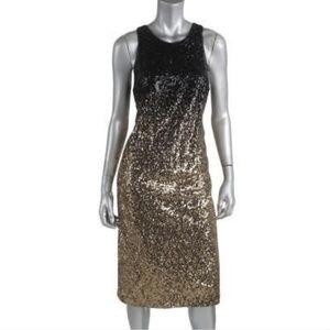 Sequin evening dress